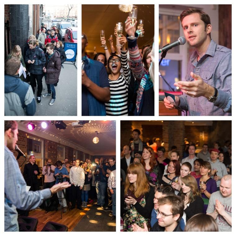 Image: Chris Guillebeau's party