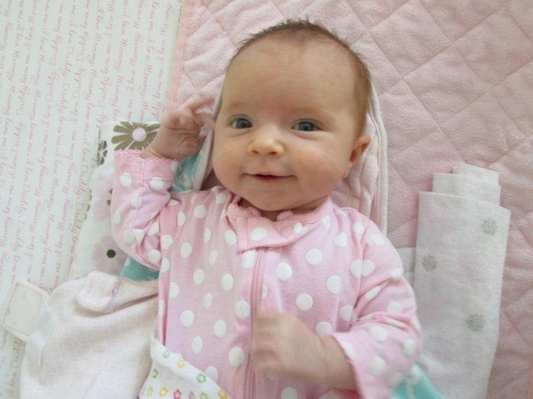Sophia Marjorie Bell, born Feb. 19, South Bend, Ind.