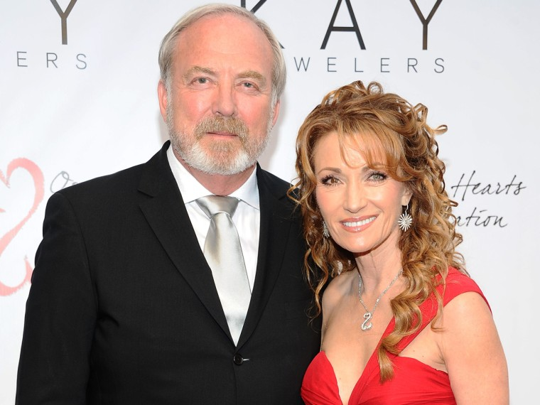 James Keach and Jane Seymour in 2012.