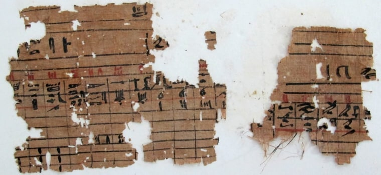 Fragments of papyri from Wadi al-Jarf shed light on life in ancient Egypt.