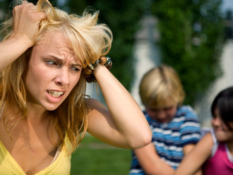 Tearing your hair out? You're not alone. Take our survey and sound off on mom stress.