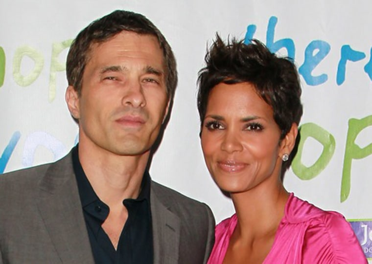 Halle Berry is finally confirming that she is engaged to boyfriend Olivier Martinez.