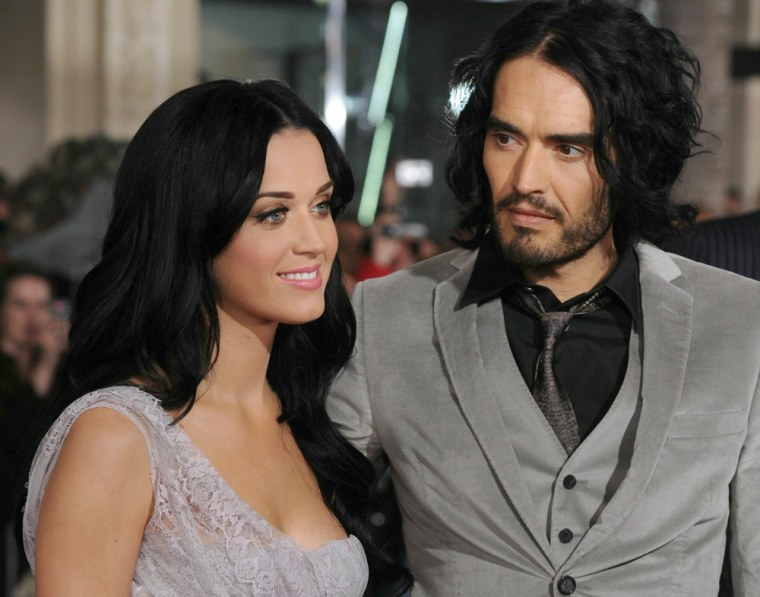 It's over for Katy Perry and Russell Brand.