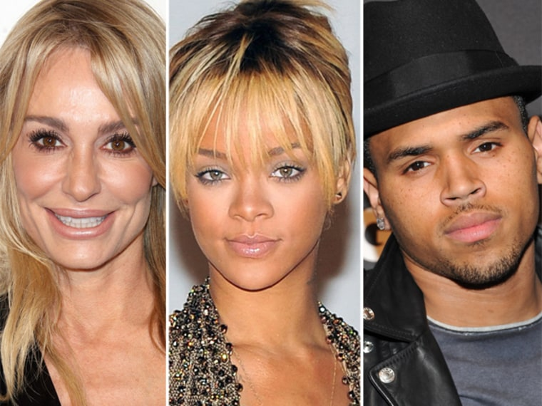 In the new issue of Life & Style magazine, Taylor Armstrong offers some advice to Rihanna and Chris Brown.
