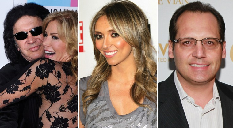 Gene Simmons and Shannon Tweed, Giuliana Rancic and Russell Armstrong all caught Clicker readers' attention in 2011.