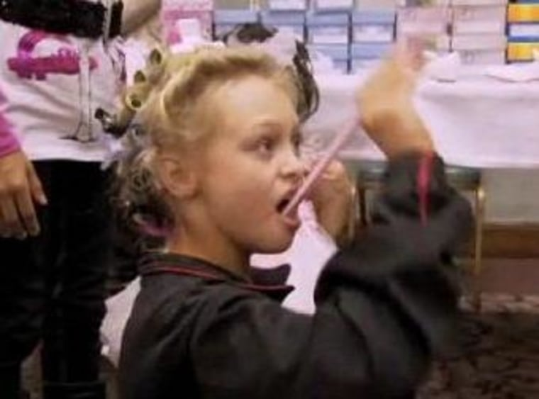 Sugary treats mean pageants kids are just fine, according to pageant director Tonya Bailey.