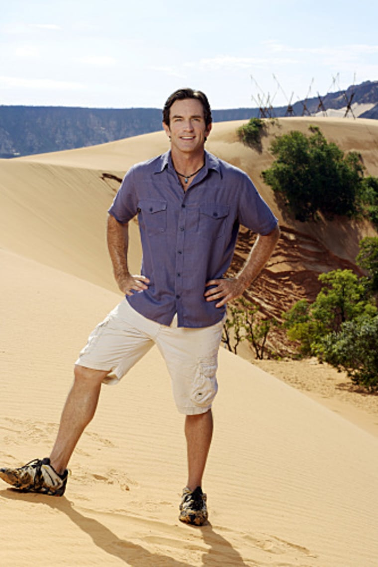 Jeff Probst has married for the second time and become a stepdad in the process.