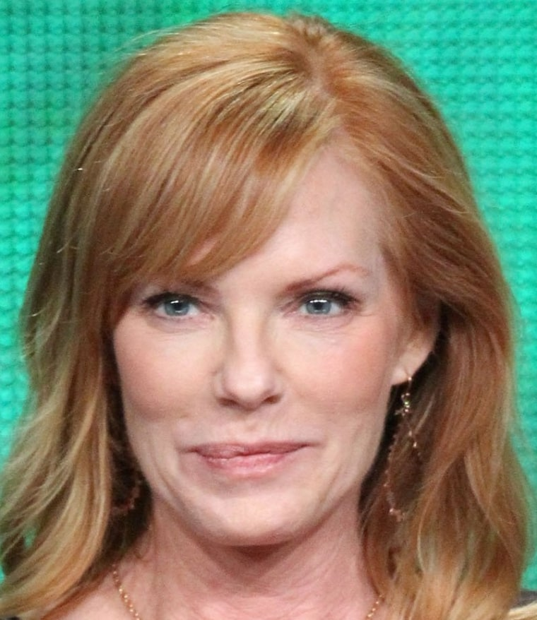 """Actress Marg Helgenberger has finished her last day on the set of \""""CSI.\"""""""