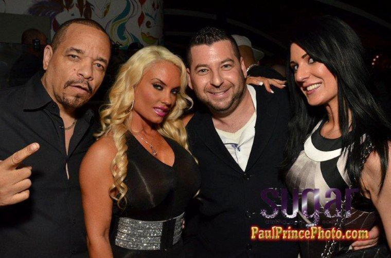 Race car driver and $10,000 table holder Seth Rose and his girlfriend Jennifer recently hung out with Ice-T and Coco at Sugar.