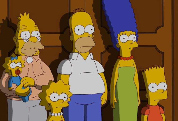 Shock! Awe! The Simpsons learn that their neighbors don't think very highly of them on the show's 500th episode.