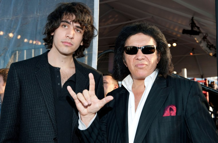 Gene Simmons took his son Nick to Israel, where the KISS frontman was born.