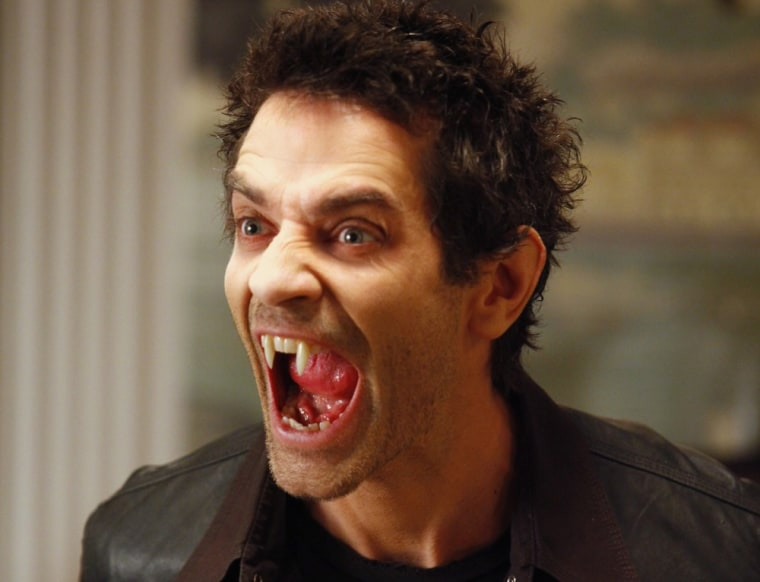 James Frain's vampire Franklin was creepy as all heck, but he had some great funny moments.