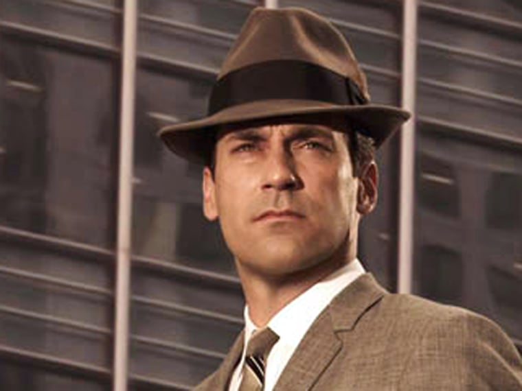"""Jon Hamm will be playing Don Draper on AMC's \""""Mad Men\"""" for at least three more years."""