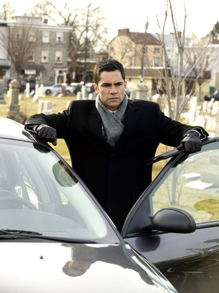 """Danny Pino played Det. Scotty Valens on the hit CBS series \""""Cold Case,\"""" and is now moving on to \""""SVU.\"""""""