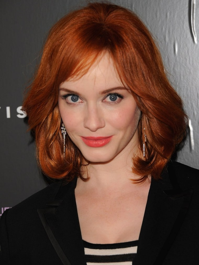 """In an interview with Parade.com, \""""Mad Men\"""" star Christina Hendricks talks about the upcoming season and what she's doing during her time off."""
