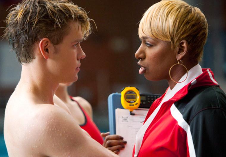 "Reality TV star NeNe Leakes stars as Coach Roz on \""Glee.\"""