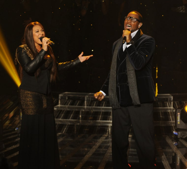 Melanie Amaro kicked out the jams with R. Kelly, but was it a good enough performance to push her over the top?