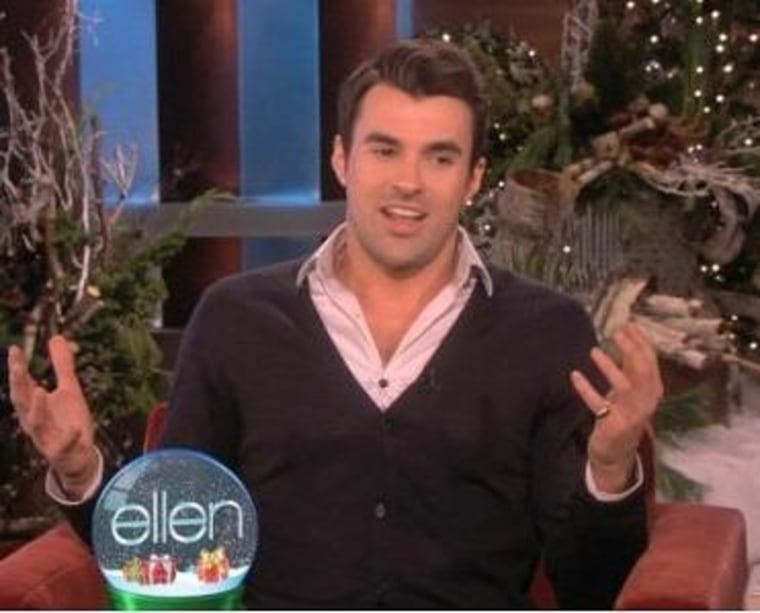 "\""X Factor\"" host Steve Jones visited \""The Ellen DeGeneres Show\"" and explained the hardest part of his job."