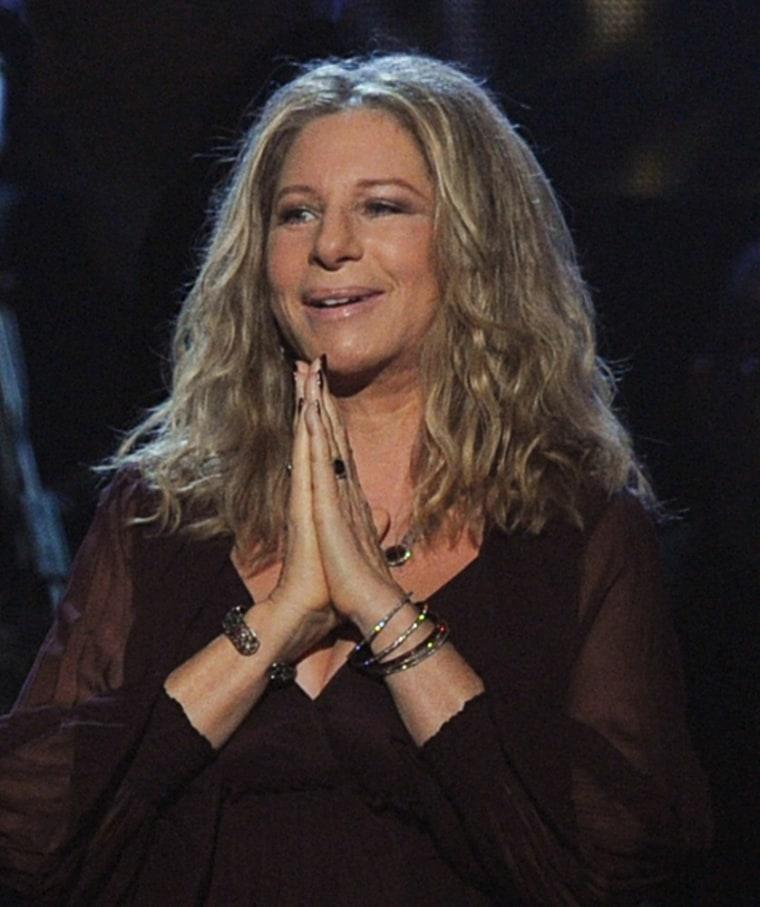 Barbra Streisand regrets 'Glee' remark
