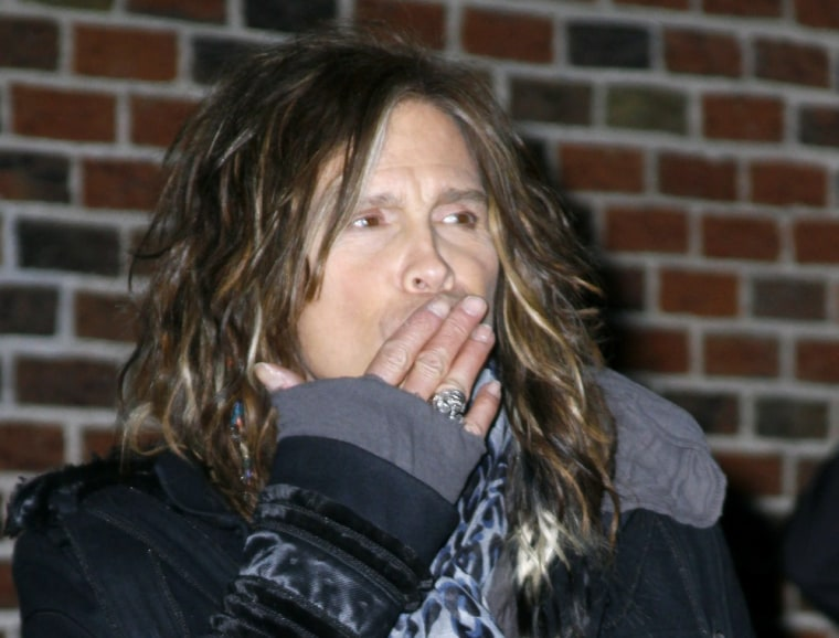 """Oops! Did new \""""Idol\"""" judge Steven Tyler just say something inappropriate?"""