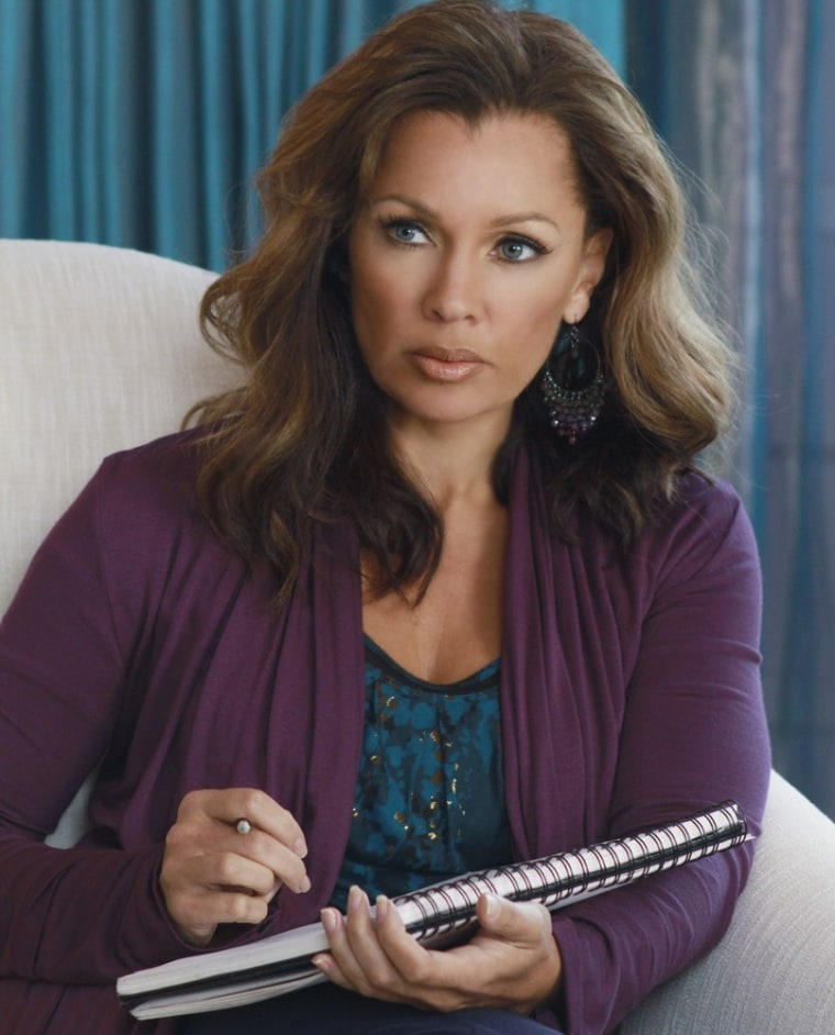 """Renee (Vanessa Williams) revealed her sweeter side to Bob and Lee this week on """"Desperate Housewives."""""""