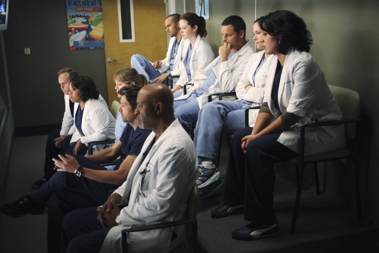 """The doctors at Seattle Grace were force to deal with their painful past on this week's \""""Grey's Anatomy.\"""""""