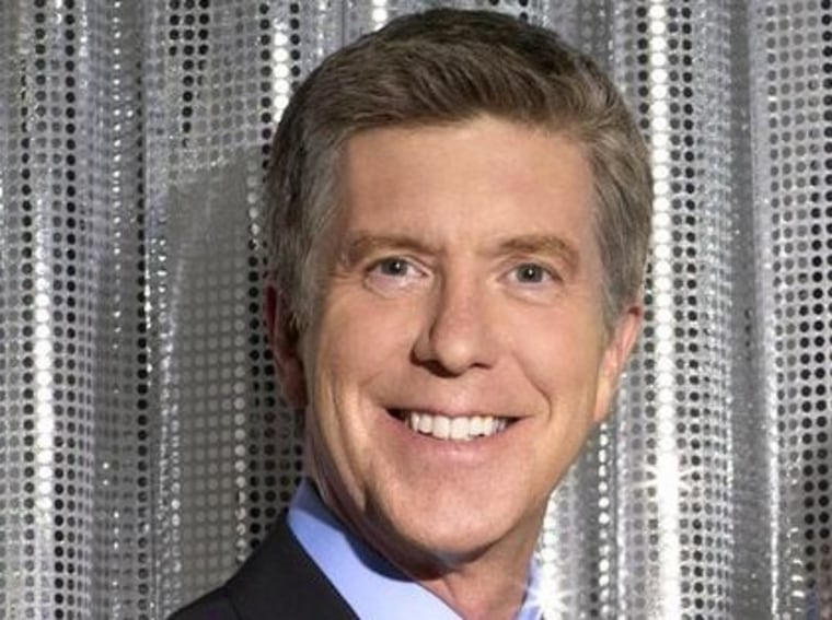 """""""Dancing With the Stars"""" host Tom Bergeron could be a good pick to replace Regis."""
