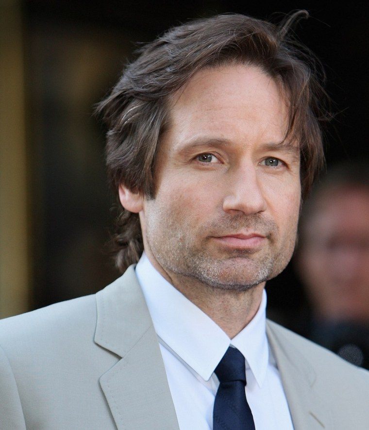 "David Duchovny is eager to get back into the role of Fox Mulder of ""The X-Files."""
