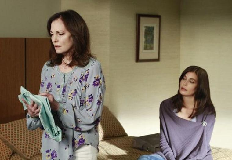 "Lesley Ann Warren, left, stars as Sophie, mom to Teri Hatcher's Susan, on ""Desperate Housewives"" Sunday night."