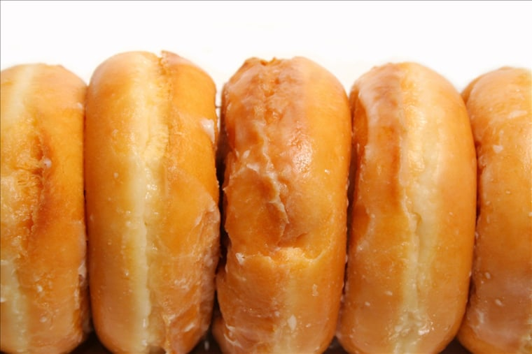 Doughnuts in the office? Tell yourself you'll just have one later.