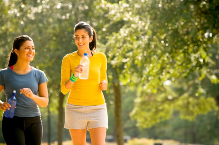 A walk in the park doesn't just burn calories. It also gives your brain a boost, increasing memory and attention -- even in those suffering from clinical depression, a new study shows.