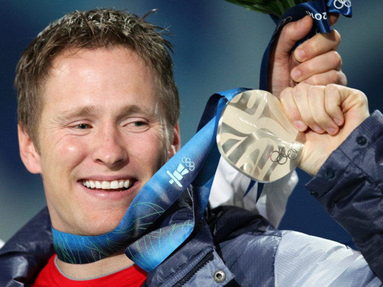 """Men's Aerials Freestyle Skiing silver medalist Jeret """"Speedy"""" Peterson, here at the Vancouver games, took his own life Monday."""