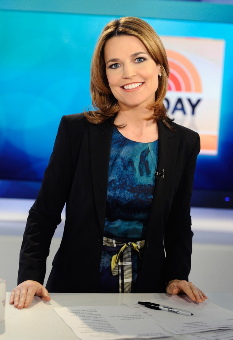 Savannah Guthrie joined TODAY as co-host of the third hour in June 2011 and also serves as TODAY's chief legal analyst.