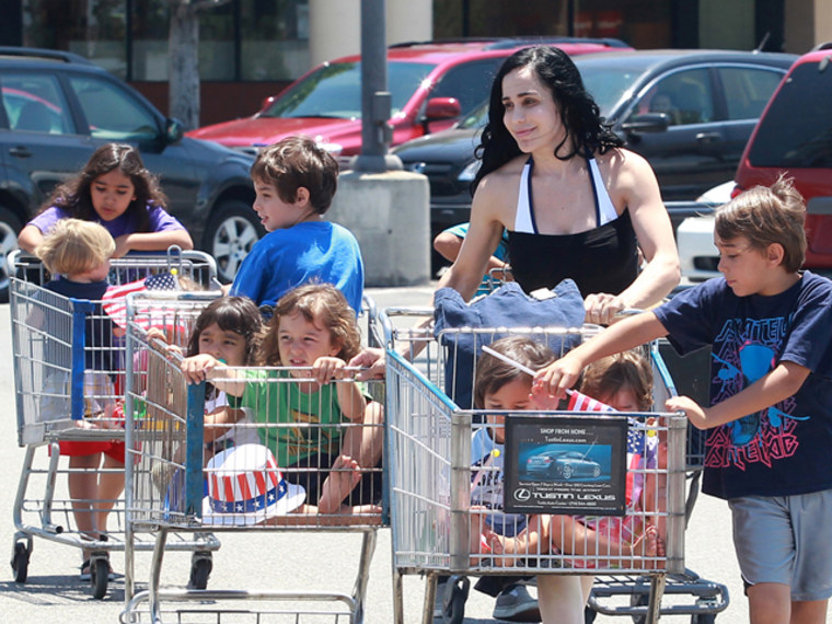 Nadya Suleman will give her first-ever live in-studio interview with her octuplets on TODAY this Friday.