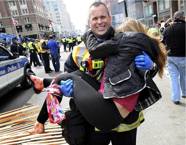 Boston firefighter Jimmy Plourde