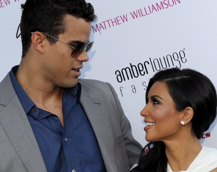 Among the items that Kim Kardashian and Kris Humphries registered for? A $7,850 vase.