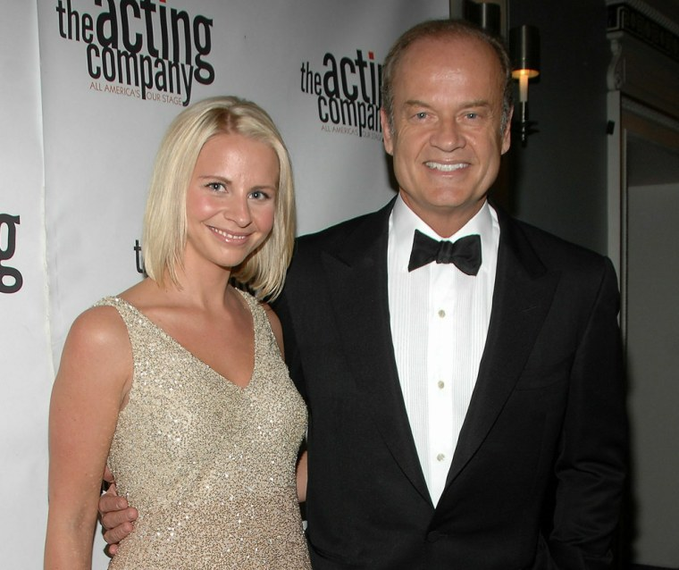 Kayte Walsh and Kelsey Grammer.