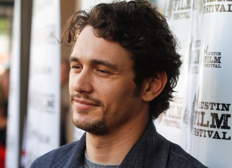 """Actor James Franco was shooting the film \""""127 Hours\"""" while also taking classes at NYU."""