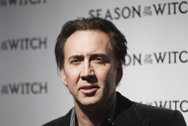 Nicolas Cage is dealing with some reported drama involving his son.