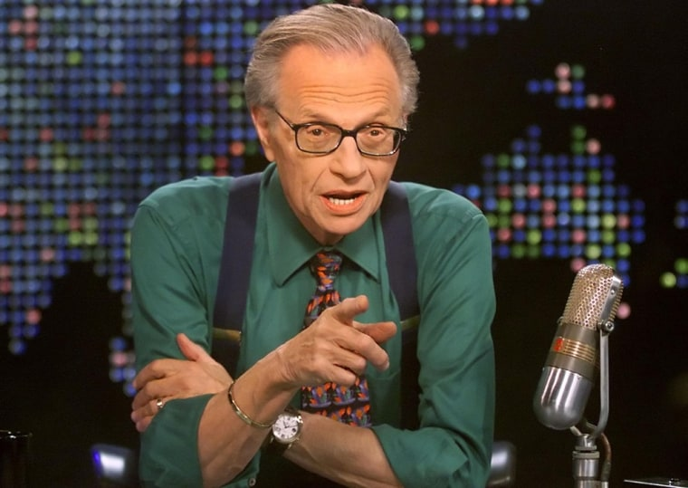 Larry King isn't about to go gently into that good night.