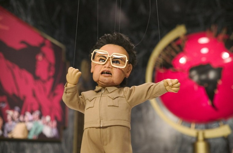 Kim Jong Il, in marionette form, had a major role in 2004's