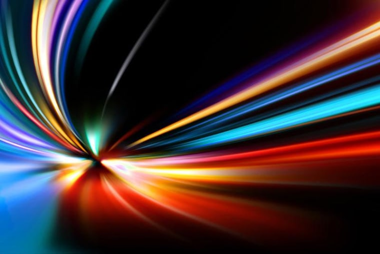 Einstein's theory of special relativity sets of the speed of light, 186,000 miles per second (300 million meters per second). But some scientists are exploring the possibility that this cosmic speed limit changes.