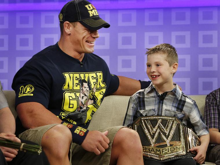 John Cena Monday, April 29, 2013, in New York, N.Y. (Rebecca Davis / TODAY)