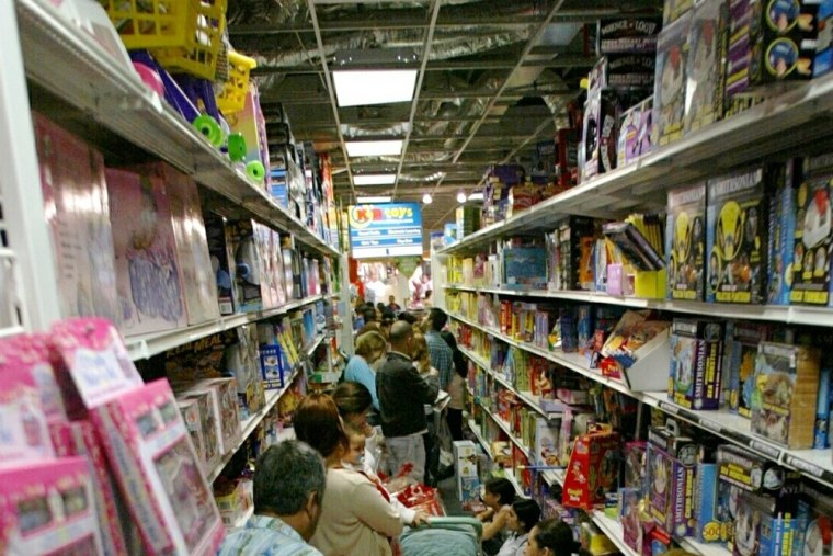 Getting accidentally bumped by other shoppers can trigger an urge to get the heck out of a store.