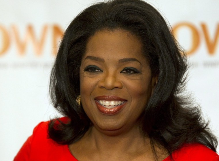 Oprah Winfrey's name may be on a laundry list of foods including salad dressings, sauces, soups, dips, frozen vegetables and beverages.