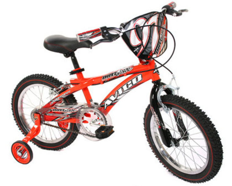 The Avigo Dirt Wave is designed for 4- to 8-year-olds.
