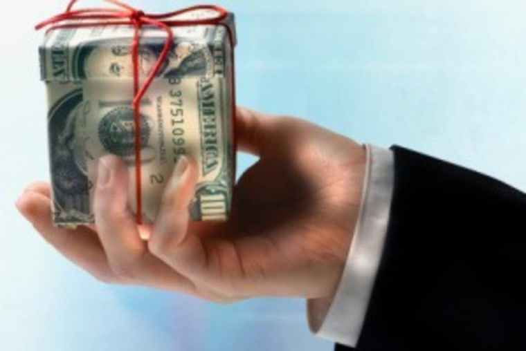 According to a survey, 39 percent of childcare providers and 47 percent of housekeepers do not expect cash or a gift this year.