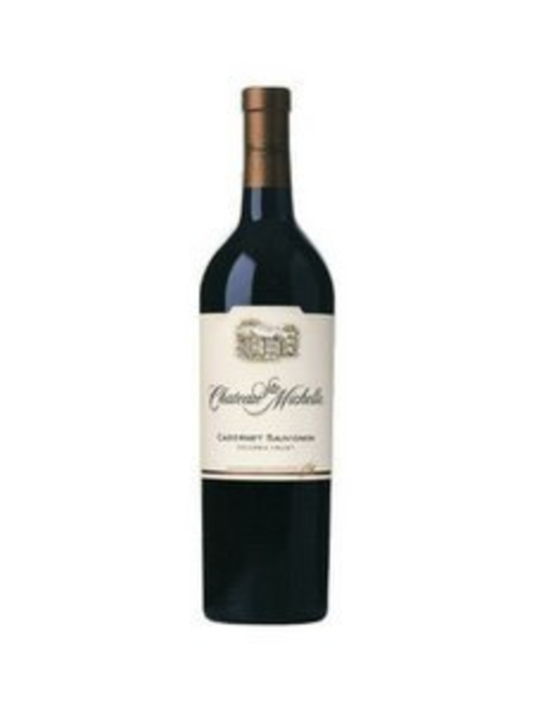 Chateau Ste. Michelle Columbia Valley Cabernet Sauvignon pairs well with meat.
