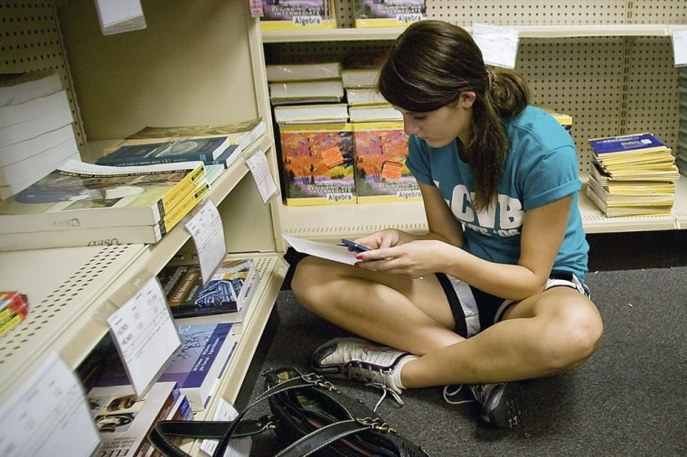 The first rule for finding cheap textbooks: Don't go to the bookstore.