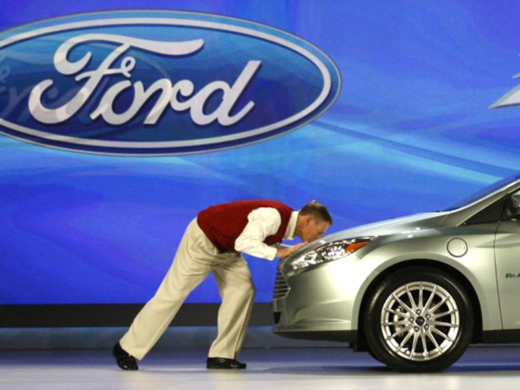 Ford's charismatic CEO Alan Mulally probably has something to do with the company's improved brand perception.